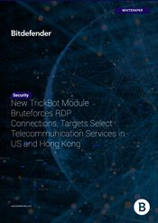 New TrickBot Module Bruteforces RDP Connections, Targets Select Telecommunication Services in US and Hong Kong