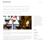 Archdiocese finds safe haven from cybercrime with Bitdefender MDR