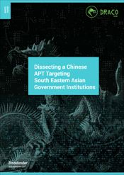 Dissecting a Chinese APT Targeting South Eastern Asian Government Institutions