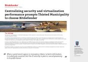 Thisted Municipality chooses Bitdefender for improved performance and centralized management