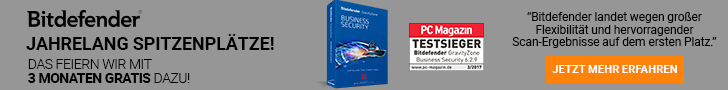 Bitdefender Business Security 2017 + 25% Laufzeit on top!