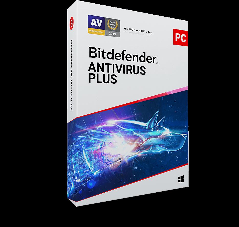 Bitdefender Antivirus Plus - 1 Apparaat - 1 Jaar
