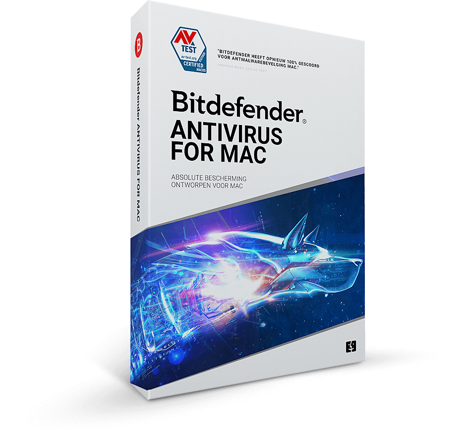 Bitdefender Antivirus fr Mac 1 Apparaat - 1 Jaar