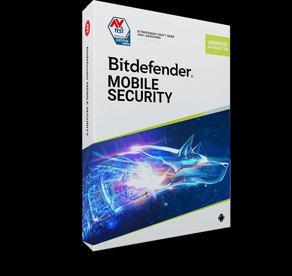 Bitdefender Mobile Security for Android1 Apparaat - 1 Jaar