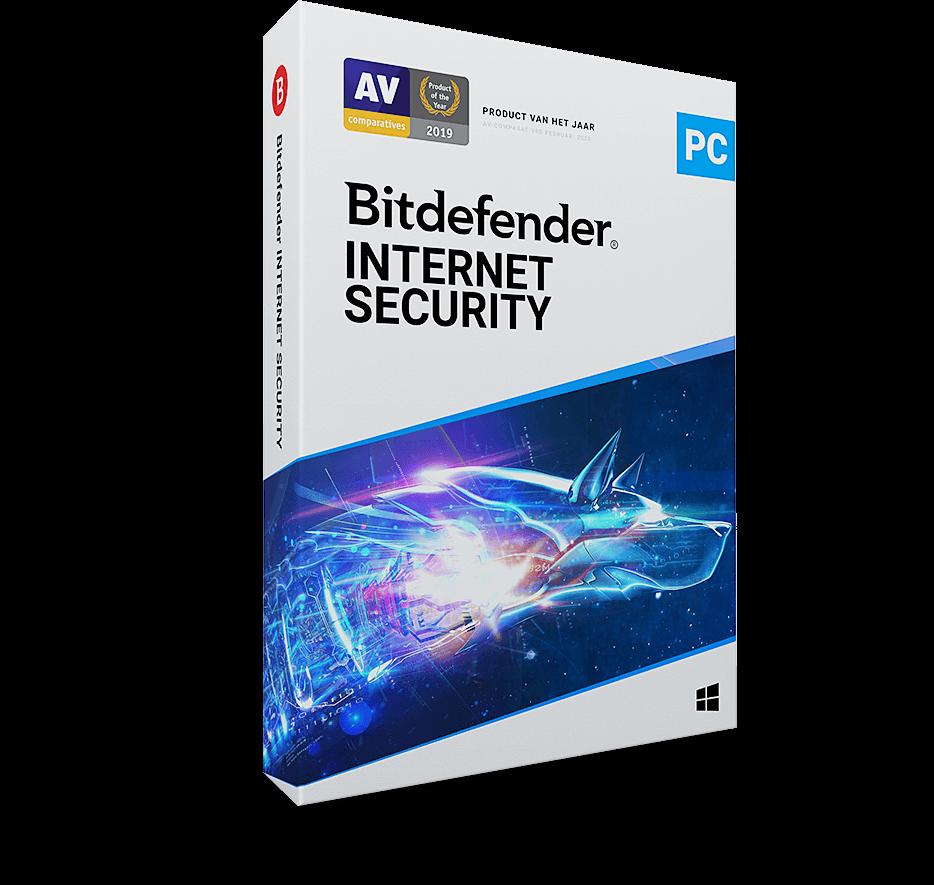 Bitdefender Internet Security 3 Apparaten - 1 Jaar