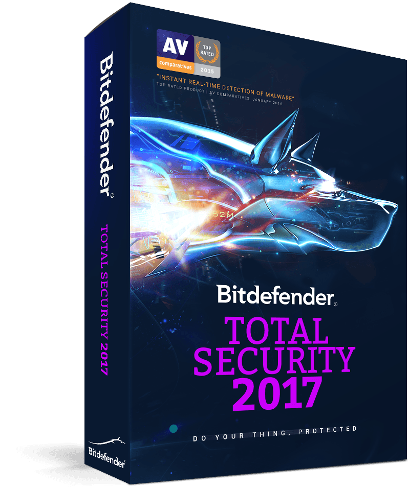 Bitdefender total security 2017 en 2047 patch till