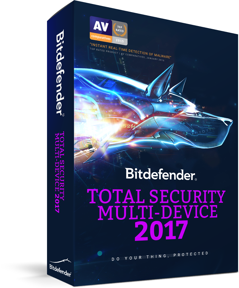 Bitdefender Total Security <br /> Multi-Device 2017