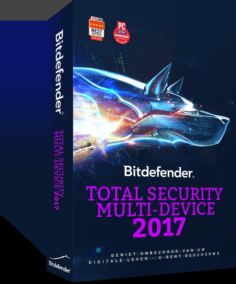 Bitdefender Total Security <br /> Multi-Device 2017