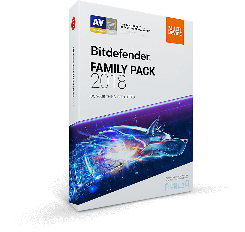 Bitdefender Family Pack 2018 Power Saver Fraud Get The 30 Day Trial