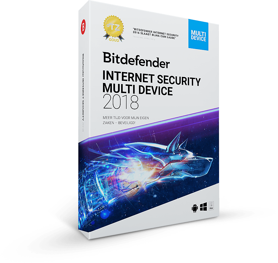 Bitdefender Internet Security Multi-Device 2018