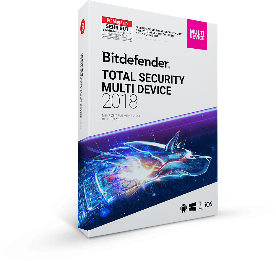 Bitdefender Total Security Multi-Device 2018