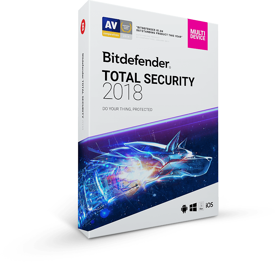 BitDefender Total Security 2018 – 90 de zile licenta GRATUITA