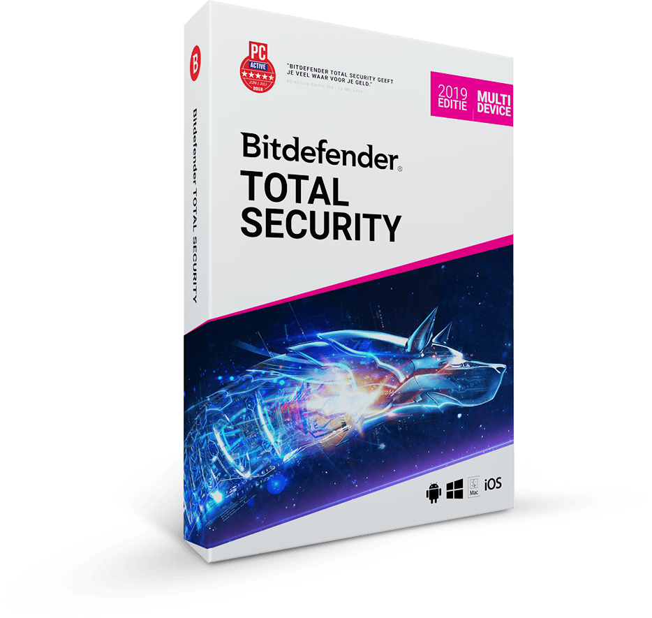 Bitdefender Total Security Multi-Device 2019