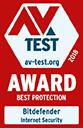 AV-Test Bester Schutz 2018