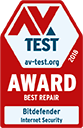 AV-Test Beste Reparatur 2018