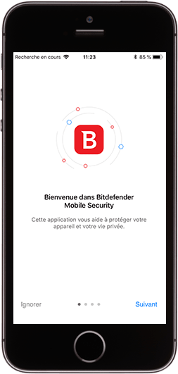 Bitdefender Mobile Security pour iOS