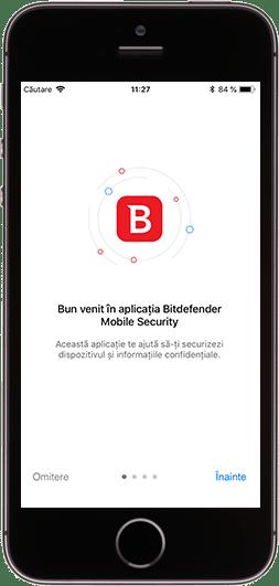 Bitdefender Mobile Security pentru iOS