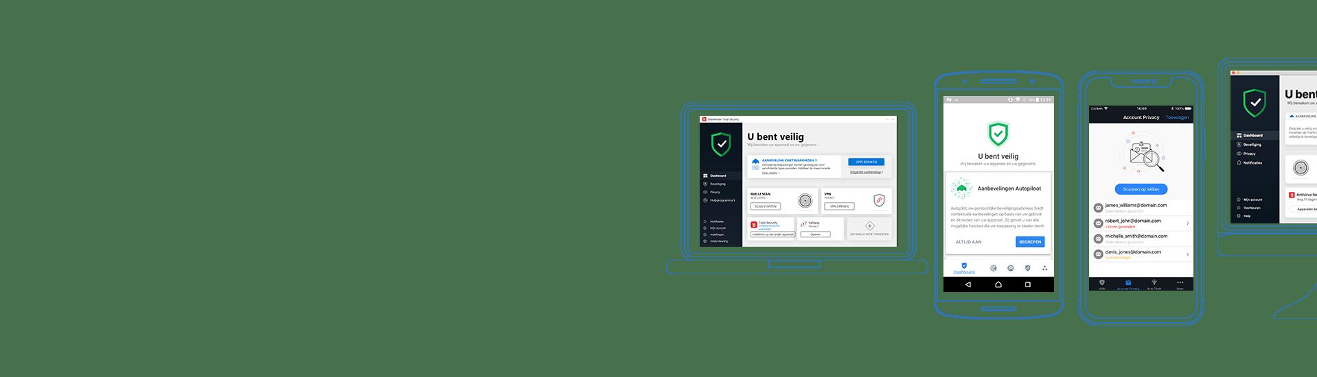 Bitdefender Total Security 2020 - Anti Malware Software