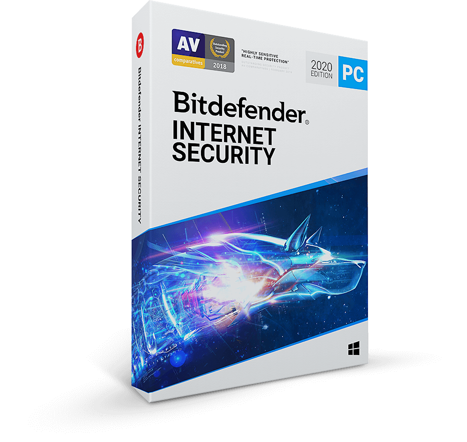 Bitdefender Internet Security 2020 - Internet Security Software