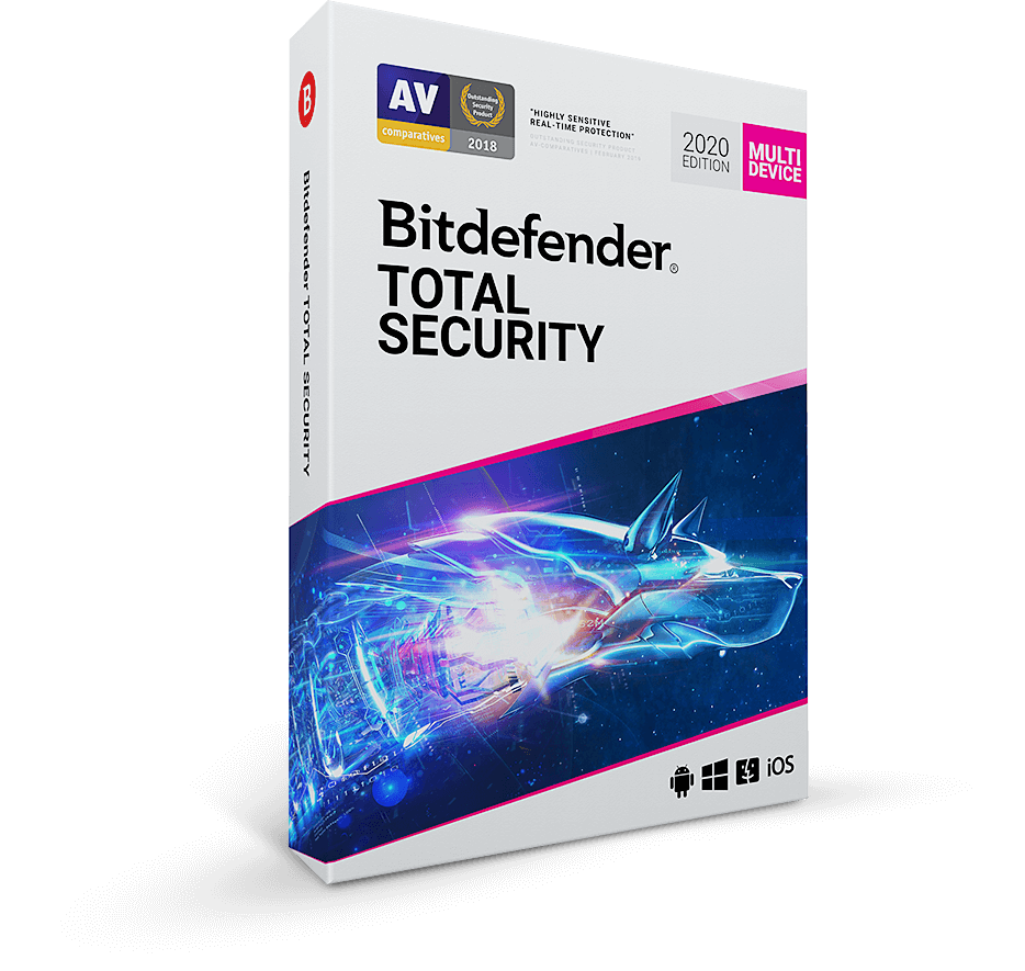 Best Spyware Remover 2020 Bitdefender Total Security 2020   Anti Malware Software