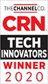 Sigla de câștigător al premiului CRN Tech Innovators pentru anul 2020