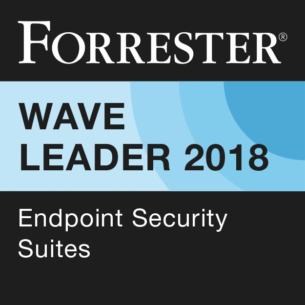 Forrester - Wave Leader 2018  EPP Security Suite Award Image
