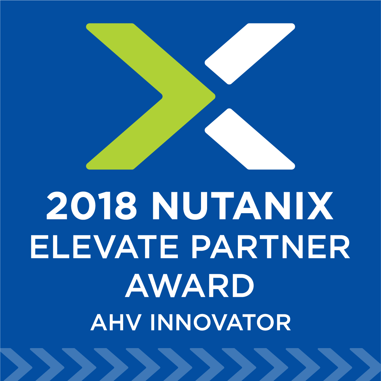 Nutanix Security 2018 Elevate Partner Award