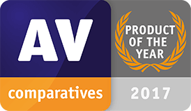 product of the year - av comparatives