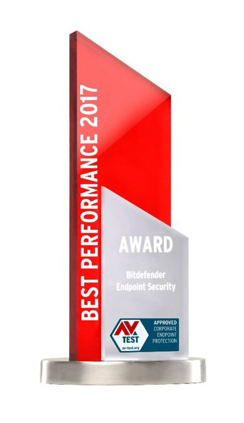 AV  Test best performance 2017 Award
