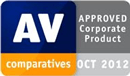 AV-Comparatives - certifié Approved Corporate Product 2012