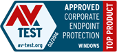 AV-Test Top Product 2016 february 2016 award