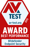 AV-Test best performance 2015 annual award