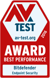 AV-TEST - certifié Approved Corporate Endpoint Protection for Windows