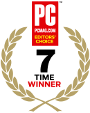 PC MAG - 5 TIME WINER