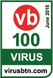 VB100 certification for anti-malware solution