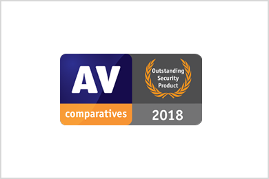 AV Comparatives 2018 - Outstandig Securit Protection