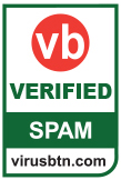 VBSpam certification for spam protection