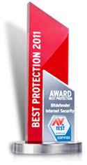 Prix annuel Best Protection 2011 par AV-TEST