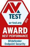 AV-Test best performance 2014 award