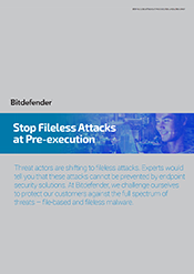 Protecting against fileless attacks and malware solution brief