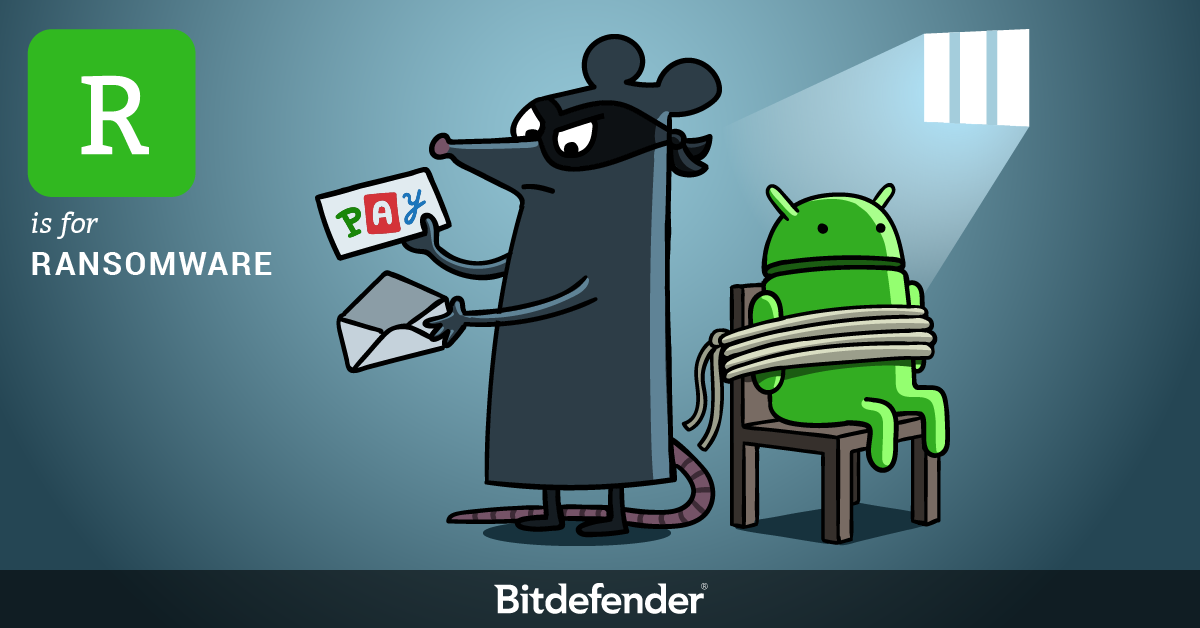 Bitdefender ABC of Cybersecurity - R is for Ransomware