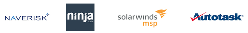 Partner with NaveRisk, Solarwinds MSP, Autotask