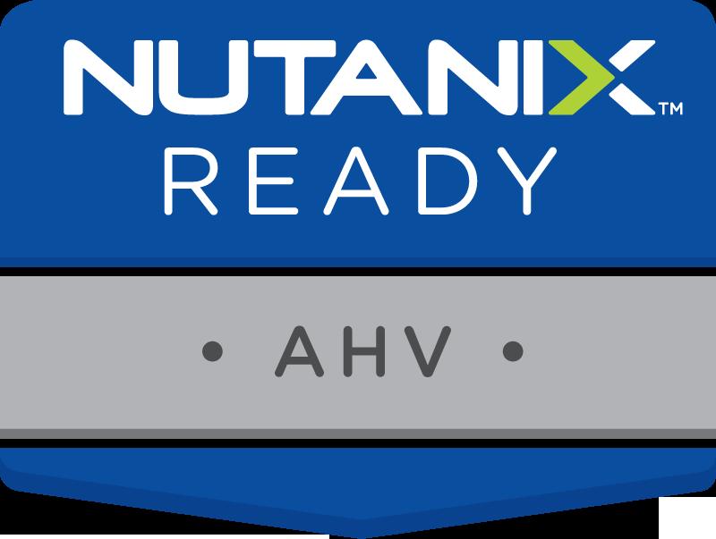 Nutanix Compatibility Certification logo