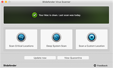 Bitdefender Virus Scanner for Mac