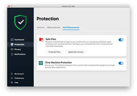 Antivirus for MAC screenshot