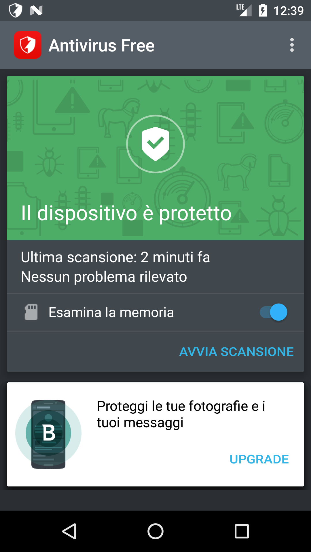 Bitdefender antivirus free per android antivirus for Antivirus per android gratis
