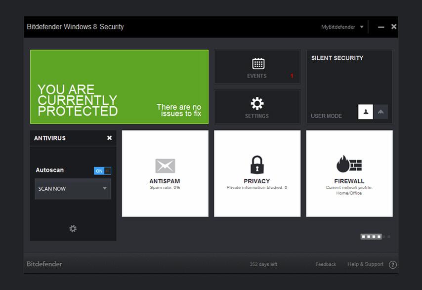 The First Windows 8 Antivirus - Bitdefender Windows 8 Security UK