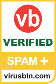 Vbspam+ certificatie van Virus bulletin, september 2013